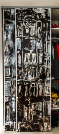 Personalizează amenajările de interior cu uși culisante pictate